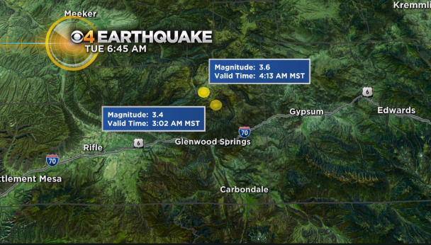 Glenwood Springs Earthquakes